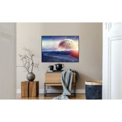 Laminas/ Canvas Decorativas Horizontal 3D-021