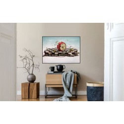 Laminas/ Canvas Decorativas Horizontal 3D-022