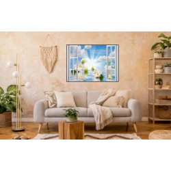 Laminas/ Canvas Decorativas Horizontal 3D-024