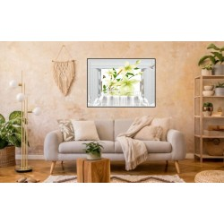 Laminas/ Canvas Decorativas Horizontal 3D-025