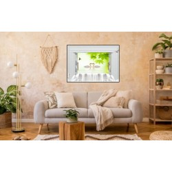 Laminas/ Canvas Decorativas Horizontal 3D-026